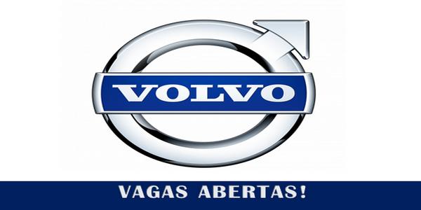 Volvo anuncia vagas de emprego por todo o Brasil!
