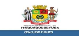 Concurso prefeitura de Itaquaquecetuba – SP 2020