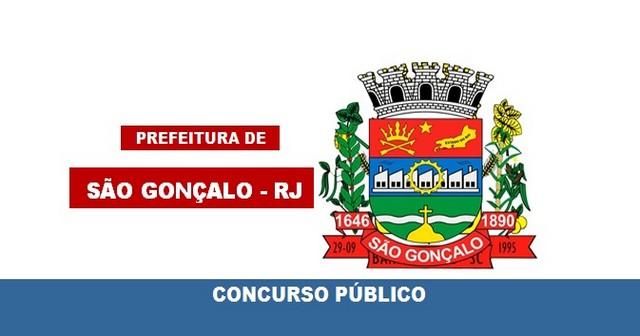 Concurso Prefeitura de São Gonçalo – RJ: inscrições abertas para 31 vagas