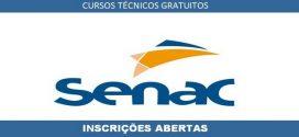 SENAC abre inscrições para Cursos Técnicos a distância