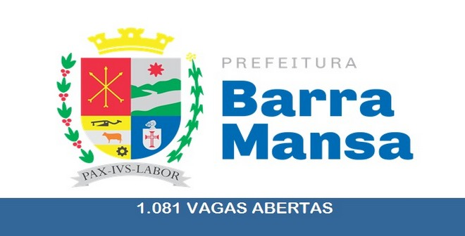Prefeitura de barra Mansa - RJ abre concurso público