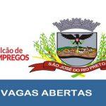 Balcão de Empregos abre novas vagas em São José do Rio Preto – SP