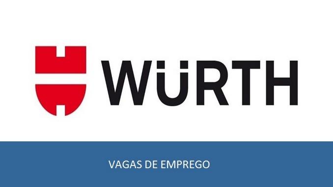 vagas de emprego abertas pela wurth