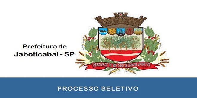 Processo Seletivo Prefeitura de Jaboticabal – SP