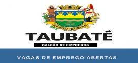 Vagas de emprego abertas em Taubaté – SP