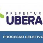 Processo seletivo Prefeitura de Uberaba – MG