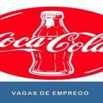 Coca-Cola abre novas Vagas de emprego em diversas áreas