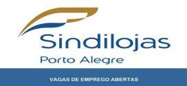 Sindilojas abre novas vagas de emprego em Porto Alegre – RS