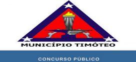 Concurso Prefeitura de Timóteo tem suas inscrições reabertas