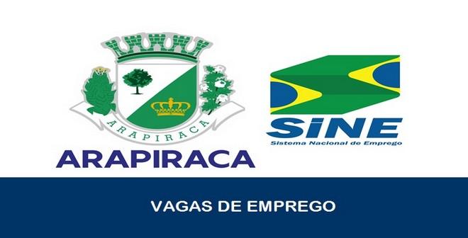 Vagas de Emprego são oferecidas pelo SINE em Arapiraca – AL