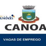 Vagas de emprego abertas em Canoas