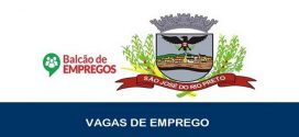 Balcão de Empregos abre novas vagas em São José do Rio Preto