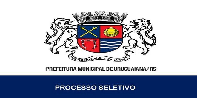 Processo seletivo é anunciado pela Prefeitura de Uruguaiana – RS