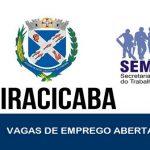 Semtre abre novas vagas de emprego em Piracicaba