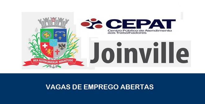 Vagas de emprego são abertas pelo CEPAT em Joinville