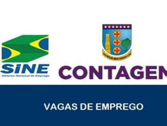 Vagas de emprego são abertas pelo SINE em Contagem – MG