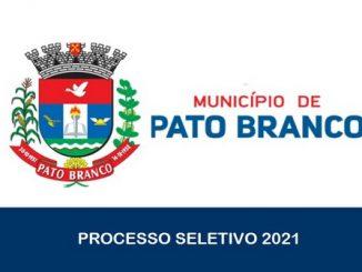 Prefeitura de Pato Branco – PR abre inscrições para Processo Seletivo para 19 vagas.