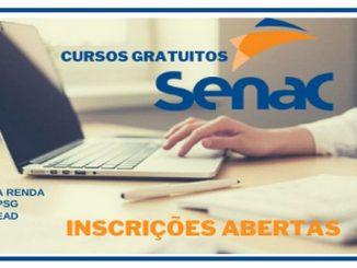 SENAC abre cursos gratuitos online para pessoas de baixa renda