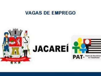 Vagas de emprego são anunciadas pelo PAT em Jacareí – SP: Candidatar-se para as vagas!