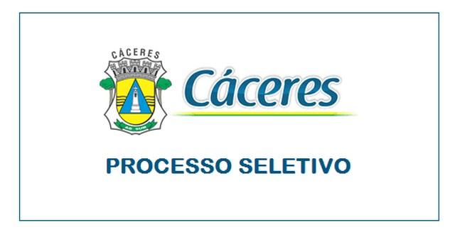Processo seletivo é aberto pela Prefeitura de Cáceres – MT