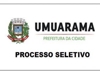 Processo seletivo é realizado pela Prefeitura de Umuarama - PR: Inscrições abertas!