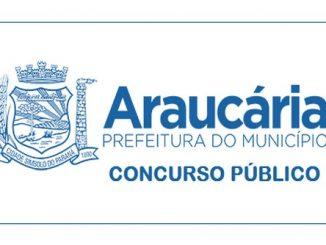 Concurso Prefeitura de Araucária – PR: inscrições abertas!